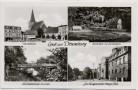 AK Mehrbild Dramburg Drawsko Pomorskie Marktplatz Jahnplatz Schützenbrücke ... Pommern Polen 1940