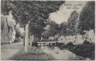 AK Gruß aus Hirsingen Hirsingue Partie am Bach Elsass Haut-Rhin Frankreich Feldpost 1915 RAR