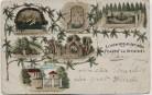AK Arnstadt Erinnerung an den alten Friedhof 1901
