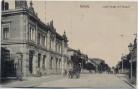 AK Oschatz Lutherstraße mit Postamt 1910 RAR