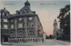 AK Aschersleben Bestehorn-Haus mit Post 1910