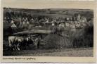 AK Foto Aulendorf in Württemberg Ortsansicht mit Kühen 1939