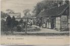AK Gruss aus Louisenlund Schlossgärtnerei mit Menschen bei Güby 1910 RAR