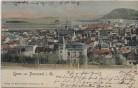 AK Gruss aus Pössneck in Thüringen Ortsansicht 1902