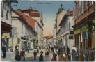 AK Bielitz-Biala Bielsko-Biała Straßenansicht viele Menschen Judaika Schlesien Polen 1920 RAR