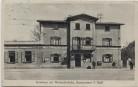 AK Augsburg Oberhausen Gasthaus zur Wertachbrücke Brauerei Alex Stöller 1910 RAR