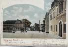AK Gruss aus Brand in Sachsen Brand-Erbisdorf Ortsansicht mit Gasthof Hotel Zum Kronprinzen 1902 RAR