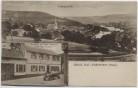 AK Gruss aus Laubenheim (Nahe) Totalansicht Wirtschaft zur Stadt Frankfurt bei Bad Kreuznach 1910 RAR