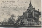 AK Berlin Tiergarten Gruss aus dem Kronprinzenzelt I In den Zelten 1 1904