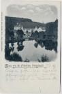 AK Trockenborn-Wolfersdorf Gruss von der Fröhlichen Wiederkunft 1899