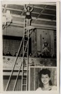 AK Foto Zirkus Frankello Gisela Frank 1957
