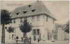 AK Pfarre in Nachterstedt viele Menschen Seeland 1906 RAR