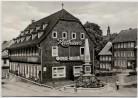 AK Foto Großbreitenbach in Thüringen Karl-Marx-Platz Rathaus Gaststätte 1978