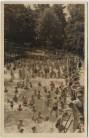 AK Radebeul Kötzschenbroda-Oberort Bilzbad mit vielen Menschen 1953