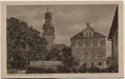 AK Oberböhmsdorf Kirche und alte Schule Kirchenspende bei Schleiz 1941 RAR