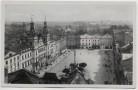 AK Foto Pardubice Pardubitz Blick auf Marktplatz Böhmen Tschechien 1939