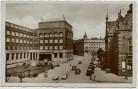 AK Foto Ostrava Mährisch Ostrau Städt. Sparkasse mit Autos Mähren Tschechien 1939
