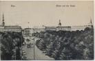 AK Riga Blick auf die Stadt Feldpost Lettland 1917