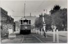 AK Foto Praha Prag Ortsansicht mit Straßenbahn Nr. 180 CC Tschechien 1968