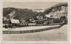 AK Foto Spital am Semmering Hotel Pension Onkel Fritz im Winter Steiermark Österreich 1940