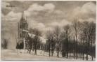AK Trudowoi Steinfeld Blick auf Kirche bei Polessk Labiau Kurland Ostpreußen Russland 1910 RAR