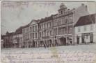 AK Roudnice nad Labem Raudnitz an der Elbe Ortsansicht Markt Böhmen Tschechien 1911