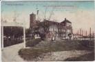 AK Teplitz-Schönau Teplice Cafe und Restaurant Schlackenburg Böhmen Tschechien 1912