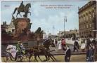 AK Berlin National-Denkmal Kaiser Wilhelm 1. Ausfahrt der Kronprinzessin 1910