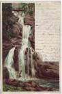 AK Litho Triberg im Schwarzwald Wasserfall 1900