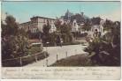 AK Hagenau Haguenau Anlage und neues Offizierskasino Elsass Bas-Rhin Frankreich 1904