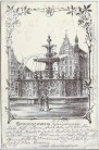 AK Braunschweig Brunnen am Kohlmarkt 1903