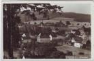 AK Foto Börnichen bei Zschopau Ortsansicht mit Kirche Erzgebirge 1944