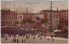 AK Hamburg Konzert am Rathausplatz viele Menschen 1910