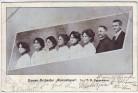 AK Damen-Orchester Romantique Dir. F.A. Oppermann 1903