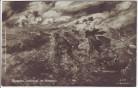 Künstler-AK Deutsche Stoßtrupps im Anmarsch Soldaten 1. WK Illustrierte Zeitung Leipzig 1917