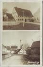 AK Foto Prittriching Ortsansicht mit Gastwirtschaft Bahnpost 1936