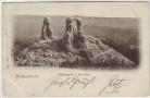 AK Halberstadt Teufelsstuhl in der Klus 1900