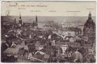 AK Dresden Blick vom neuen Rathausturm Frauenkirche Ständehaus ... 1917
