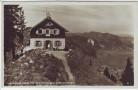 AK Foto Starnberger Hütte mit Oberammergau und Unterammergau 1930