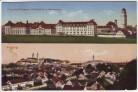 AK Freising Ortsansicht mit Prinz-Arnulf-Kaserne 1929