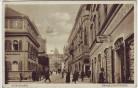 AK Regensburg Maximilianstrasse viel Mensche Geschäfte 1930 RAR