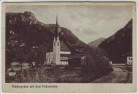 AK Niederachen mit dem Falkenstein Ortsansicht bei Inzell 1910 RAR