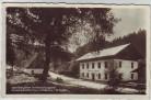 AK Foto Gabrielahütten Gabrielina Huť Natzschungstal Gasthaus zur Böhm. Schweiz bei Olbernhau Kalek Landpoststempel Wernsdorf Böhmen Tschechien 1940 RAR