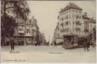 AK Bruxelles Brüssel Porte de Louvain Straßenbahn Belgien 1910