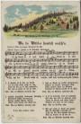 AK Liedkarte Anton Günther Wu da Wälder hamlich rausch'n Nr. 30 1920