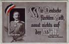 AK Patriotika Fürst Otto von Bismarck Wir Deutsche fürchten ... 1.WK Feldpost 1915