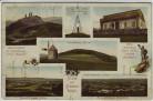 AK Mehrbild Gruss vom Gickelsberg bei Bad Oppelsdorf Opolno Zdrój Bogatynia Schlesien Polen 1910