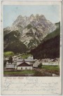 AK Gruss aus Raibl Ortsansicht bei Tarvis Italien 1907