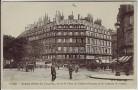 AK Paris Grand Hotel du Louvre L'Avenue de l'Opera  Frankreich 1910
