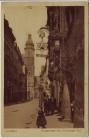 AK Leipzig Burgstrasse mit Thüringer Hof 1922